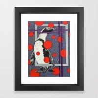 Mr. Pen Quinn Framed Art Print