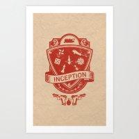 Totem Emblem Art Print