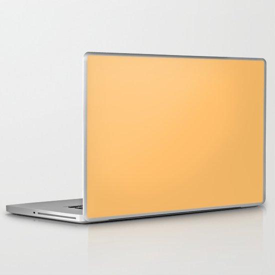 Creamy Orange Laptop & iPad Skin