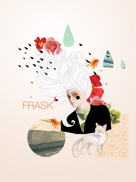 FRASK Collage Art Print