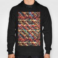 Colorful Geometric Motif Hoody