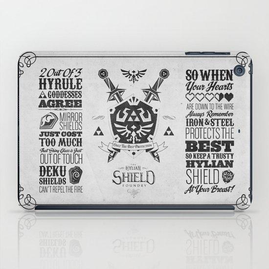 Legend of Zelda - The Hylian Shield Foundry iPad Case