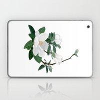 Magnolia Flowers Laptop & iPad Skin