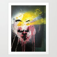 See For Vendetta Art Print