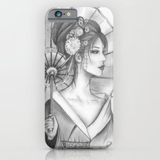 Elegant Oriental Japanese Geisha by Ashley Rose Standish Slim Case iPhone 6s