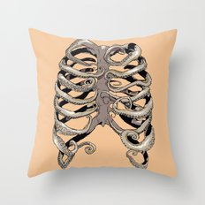 Your Rib is an Octopus Throw Pillow