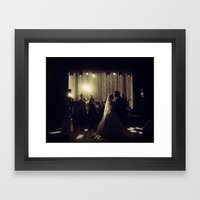 Jewish Wedding Framed Art Print