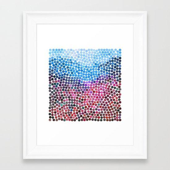 dance 14 Framed Art Print