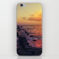 Sundown At The Sea iPhone & iPod Skin