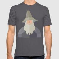 Gandalf Mens Fitted Tee Asphalt SMALL