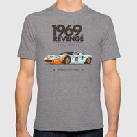 1969 Mens Fitted Tee Tri-Grey SMALL