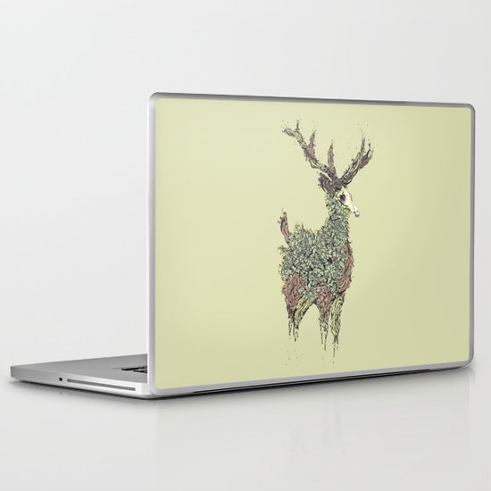 Beautiful Deer Old Laptop & iPad Skin