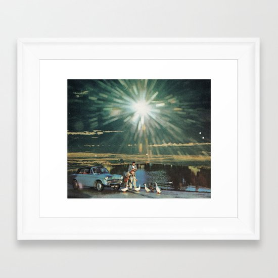 UNTITLED (the age of adz) Framed Art Print
