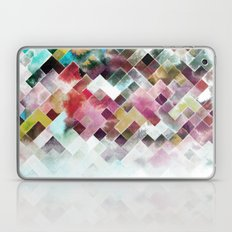 Moody Watercolor Patchwo… Laptop & iPad Skin