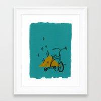 confidant I. (tricycle) Framed Art Print