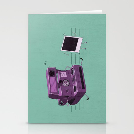 Shake It Like A Polaroid Picture Stationery Card