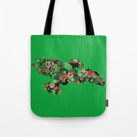 Flowerfly Tote Bag