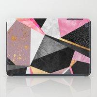 Geometry / Pink iPad Case