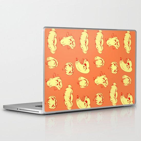 Crazy Pumpkin Party Laptop & iPad Skin