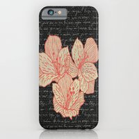 iPhone & iPod Case featuring Burlap & Flowers 2 by David Andrew Sussman