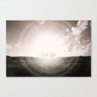 Light Canvas Print