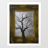 Winter Tree Print Art Print