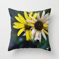 Life Behind Death Throw Pillow