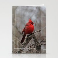 The Cardinal  Stationery Cards