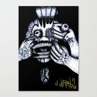 My Personal Demons Canvas Print