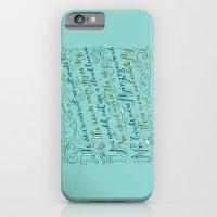 The Walrus and the Carpenter, Stanza 3 iPhone 6 Slim Case
