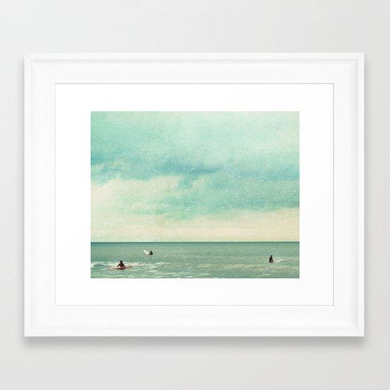 Only Chasing Safety Framed Art Print