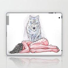 Wolf and I Laptop & iPad Skin