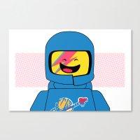 Spaceship! Oddity Canvas Print