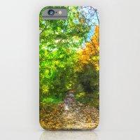 Autumn  Forest Path Art iPhone 6 Slim Case
