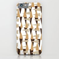 iPhone Cases featuring brown spearheads by Matthias Hennig
