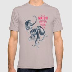 MATCH Mens Fitted Tee Cinder SMALL