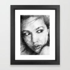 Mira Framed Art Print