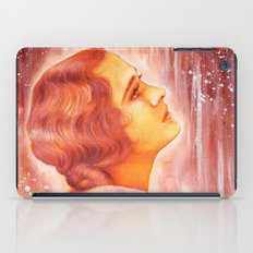 Heading for a fall (Vintage Portrait) iPad Case