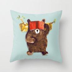 No Care Bear - My Sleepy… Throw Pillow