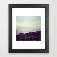 Serene Superior Framed Art Print
