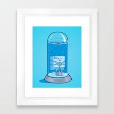 The Great Escape Artist Framed Art Print