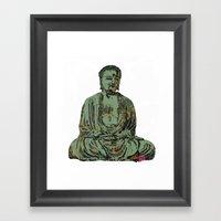 The Big Buddha Framed Art Print