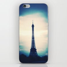 Blue Tower iPhone & iPod Skin