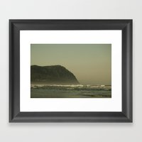 The Oregon Coast Framed Art Print