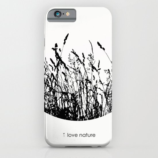 i love nature iPhone & iPod Case