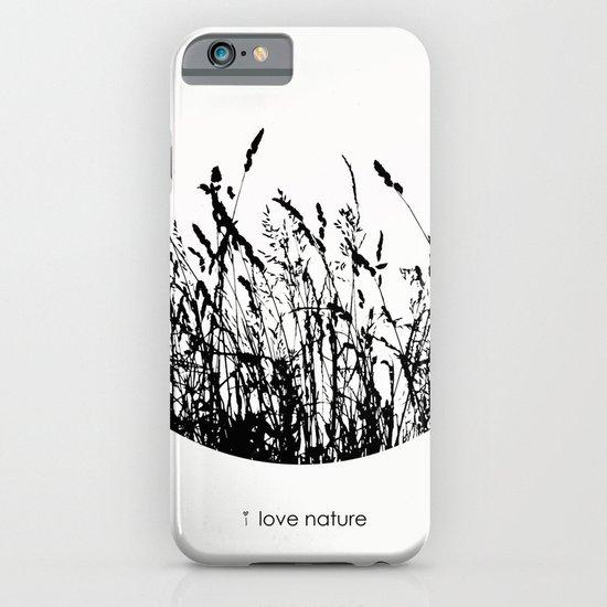 i love nature iPhone & iPod Case