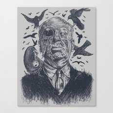 The Birds Attack Canvas Print