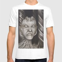 Disgustipator Mens Fitted Tee White SMALL