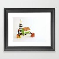 Bumba Meu Boi - Brazil Framed Art Print