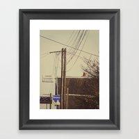 I spent my days in the world 2 Framed Art Print